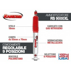 RANCHO 9000 XL JEEP WRANGLER TJ ANTERIORE