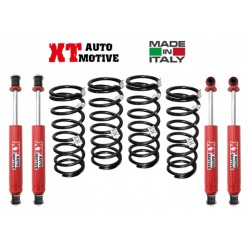 KIT DI RIALZO COMPLETO XT AUTOMOTIVE +4/5CM PER LAND ROVER DEFENDER 90