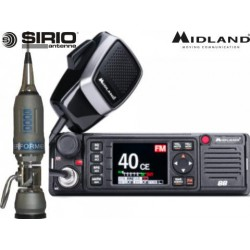 Radio CB Midland 88 + Antenna Sirio
